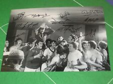 More details for glasgow rangers 1972 european cup winners cup final celebration photo signed x12
