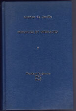 CHARLES DE GAULLE DISCOURS ET MESSAGES tome 1 1940-1946 LIVRE histoire
