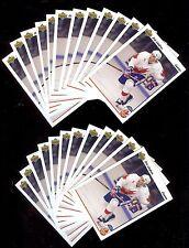 (24) ERIC LINDROS - HOF - 1991-92 UD Team Canada Cup Hockey RC Card #9 LOT