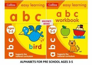 KS1 RECEPTION PRE SCHOOL ENGLISH ABC ALPHABET LEARNING AND WORKBOOK BUNDLE