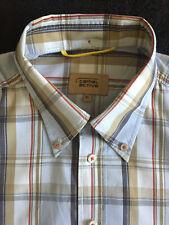 CAMEL ACTIVE Hemd Gr.XL100% Cotton langarm kariert Button-Down
