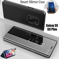 Luxury Touch Mirror Smart Flip Stand Case Cover For Samsung Galaxy S9 Plus S8 S9
