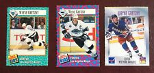 WAYNE GRETZKY SI for KIDS  3 HOCKEY CARDS Sports Illustrated