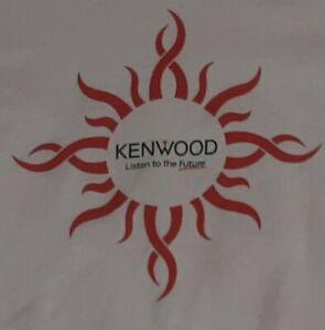 Kenwood Stereo T Shirt Listen To The Future T-SHIRT Tas Electronics Toledo Ohio