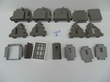 LEGO Grey Castle Parts Various Assorted Mixed Bundle Lot B FREE UK P&P