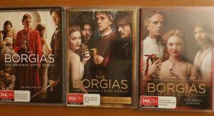 THE BORGIAS Season 1 2 3 DVD Complete
