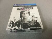 Life Is Strange: Before the Storm -- Limited Edition (Sony PlayStation 4, 2018)