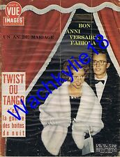 Point de vue n°704 du 08/12/1961 Fabiola Belgique Tango Twist