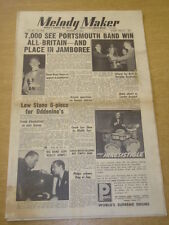 MELODY MAKER 1953 OCTOBER 17 JAMBOREE LEW STONE DEEP RIVER BOYS CAROLE CARR +