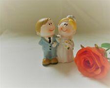 Kleines lustiges Brautpaar Tisch - Tortendekoration