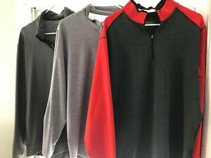 Lot of 3 Nike Men's XL  1/4 Zip Tops
