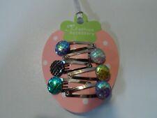 girls baby hair clips snap clips slides bendies hair clip mini clips mermaid