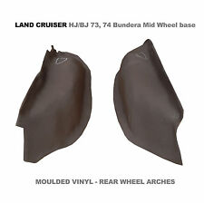 To suit Toyota Land Cruiser BJ HJ 73 74 1985-96 Moulded Vinyl Rear Wheel Arches