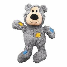 Kong Wild Knots Bear Heavy Duty Plush Dog Toy Knotted Rope Skeleton (4 sizes)