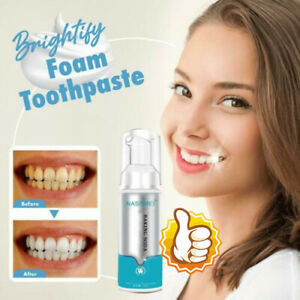 Brightify Deep Cleaning Foam Toothpaste Mousse Teeth Whitening