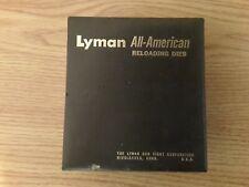 LYMAN ALL-AMERICAN RELOADING DIES (38-357 FL, 38-357 DA & EXP DIE M 1)