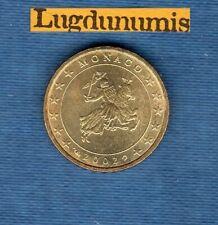 Monaco 2002 10 Centimes D'Euro SUP SPL Pièce neuve de rouleau Sceau des Grimaldi