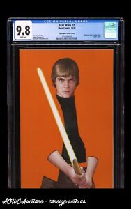Star Wars #7 John Tyler Christopher Negative Variant (Limited to 4000) - CGC 9.8