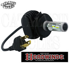 Headwinds LED Headlight Bulb for Harley H4 LED Bulb is Harley Daymaker Alternate