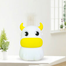 LED Silicone Night Light Cute Cow Animal Lamp Soft Cartoon Reading Kids Gifts