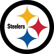 Pittsburgh Steelers (B) 2 PACK NFL Decal Sticker - You Choose Size FREE SHIPPING