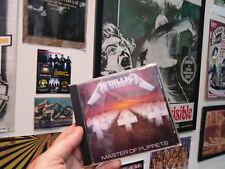METALLICA - MASTER OF PUPPETS CD Battery Sanitarium Damage Inc. Leper Messiah