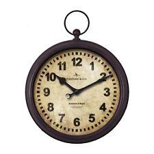 FirsTime Manufactory 40146 Metal Pocket Watch Clock