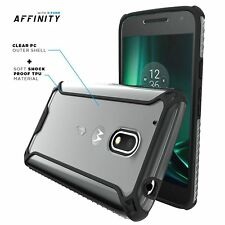 Case For Moto G Play / Moto G4 Play Poetic【Affinity】Dual Material Bumper Case