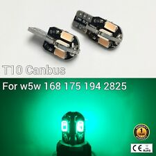 T10 W5W 194 168 2825 175 Parking marker corner Light Green Canbus LED M1 M