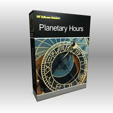 Planetary Hours Astrology Moon Phase Calendar Pro Professional Software