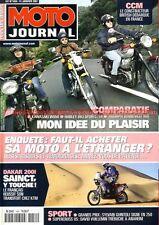 MOTO JOURNAL 1454 Essai KAWASAKI W650 TRIUMPH 800 Bonneville HARLEY DAVIDSON 883