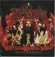 ROB ZOMBIE Never Gonna Stop RARE CARDED SLEEVE PROMO DJ CD single White Zombie