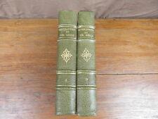 BIOGRAPHIES DU XIXe SIECLE librairie BLOUD BARRAL vers 1900 2 volumes DARWIN etc