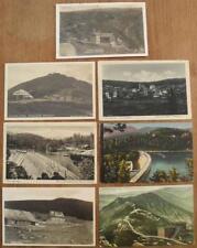 7x AK Riesengebirge Hotel Germania Talsperre Krkonose Lomnitztalsperre Postkarte