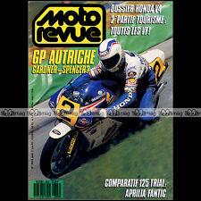 MOTO REVUE N°2803 HONDA VF 400 500 750 1000 F2 C S R MAGNA SABRE GPX 400 R 1987