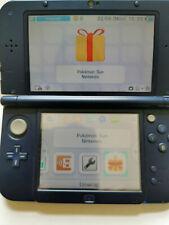 NEW NINTENDO 3DS XL CONSOLE WITH POKEMON SUN PREINSTALLED