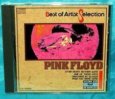Rare Japan Press CD: Pink Floyd - Best Of Artist Selection - Nihon Audio