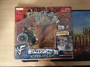WWF WWE Summer Slam 99, BNIB, Grapple Gear 2, No Pain, No Gain. Accessories Set