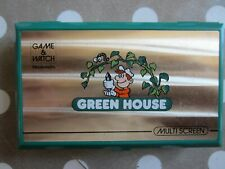 MAGNIFIQUE Nintendo Game and Watch Green House 1982 LCD Multi screen RARE