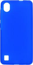 """Funda Carcasa Gel Silicona Azul Para ZTE Blade A5 (2019) 4G 5.45"""""""