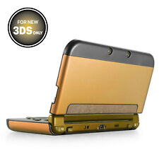 Aluminium Protective Hard Shell Skin Case Cover for New Nintendo 3DS 2015 Gold