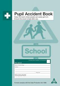 Pupil Accident Books A4 Q3201