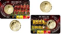 """België 2½ euro 2018 coincard """"WK Voetbal"""" in BU Frans"""
