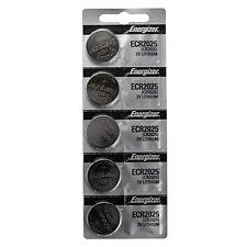 5 x FRESH Genuine Energizer CR2025 ECR2025 3V Coin Button Battery Fast Shipping