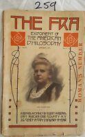THE FRA,ELBERT HUBBARD 1913 JANUARY VOL X NO.4,WOMENS NUMBER,MACK TRUCK AD