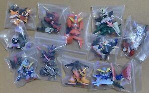 ZAFT MS SD Gundam Full Color Custom SDガンダムフルカラー カスタム SDFCC All 11 Of Them
