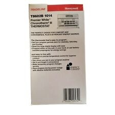 HONEYWELL Premier White Chronotherm lll Thermostat T8602B 1014