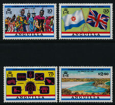 Anguilla 521-5 MNH Commonwealth Day, Flags, Map, Costumes, Salt Industry