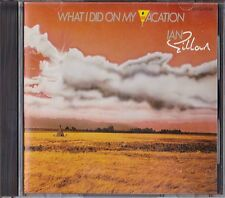 Ian Gillan What I Did On My Vacation Japan 1st CD 1986 32VD-1040