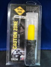 Dead End Game Calls Cz001 Caution Zone Hand-Tuned Crow/Turkey Call /Spring Gobb